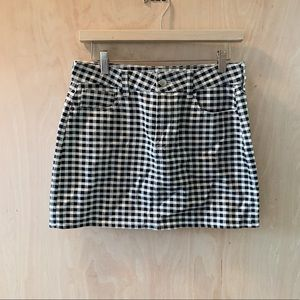 PacSun Checkered Skirt